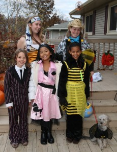 The Trick-or-Treat Gang